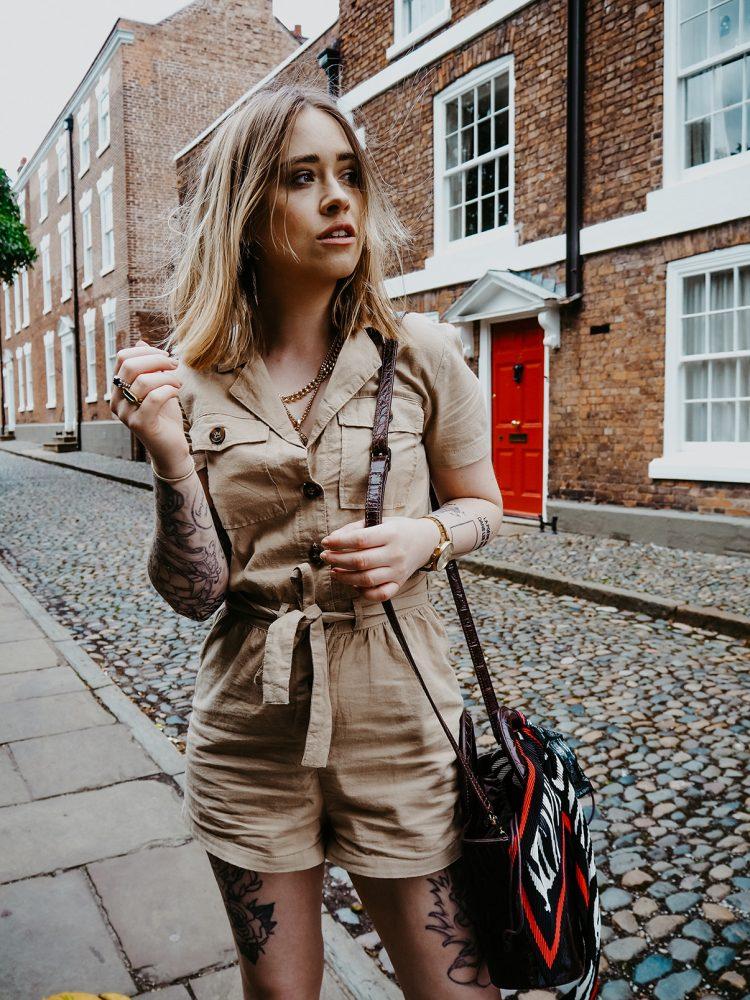 UK fashion blogger Lucy Love